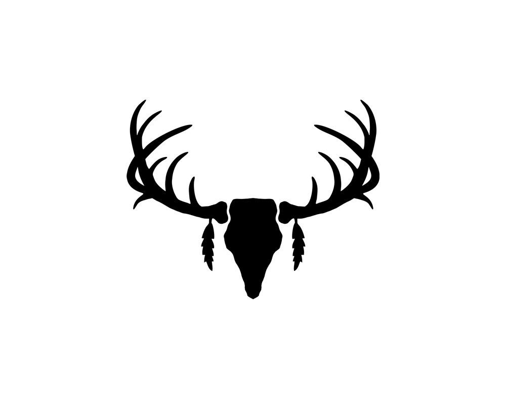 1000x788 Deer%20antlers%20clipart%20black%20and%20white Deer Pics