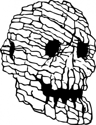 326x425 Judging Skull Clip Art Images