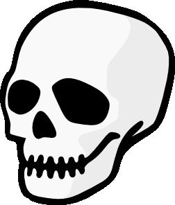 252x296 Purzen Skull Clip Art