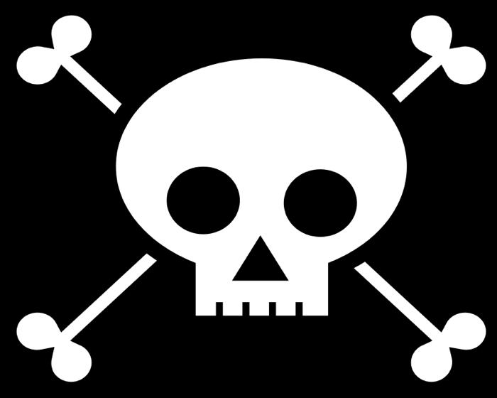 700x560 Skull And Crossbone Clipart
