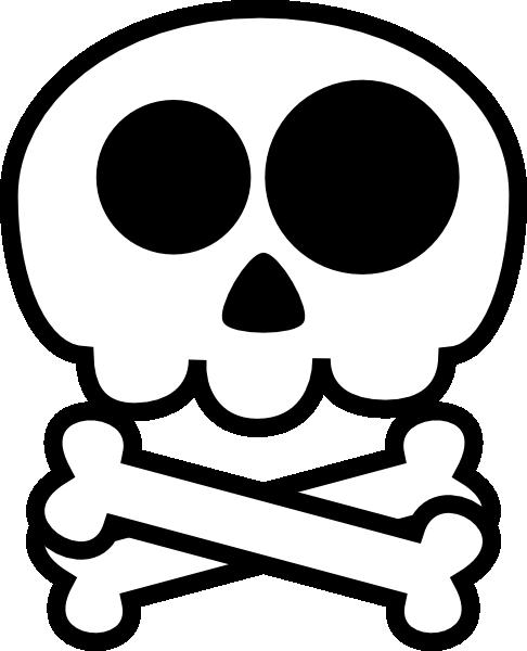 486x600 Skull Clip Art Vector Free Image 1