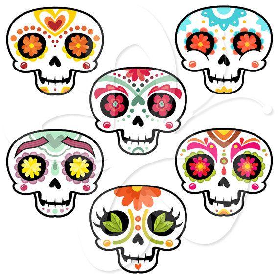 570x570 Sugar Skull Clip Art Many Interesting Cliparts
