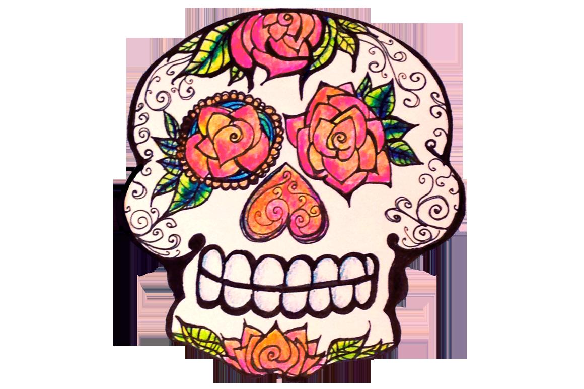 1160x772 Sugar Skull Clipart Cartoon