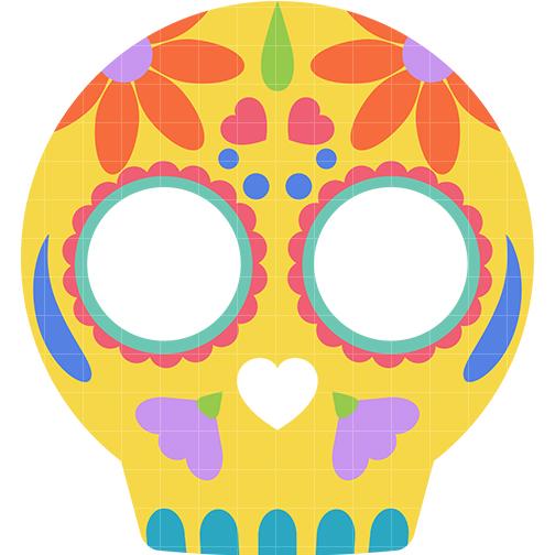 504x504 Sugar Skull Clipart Simple Sugar