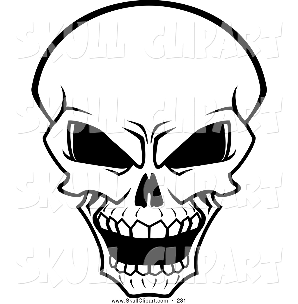1024x1044 Drawings Of Really Scary Skulls Scary Clipart Human