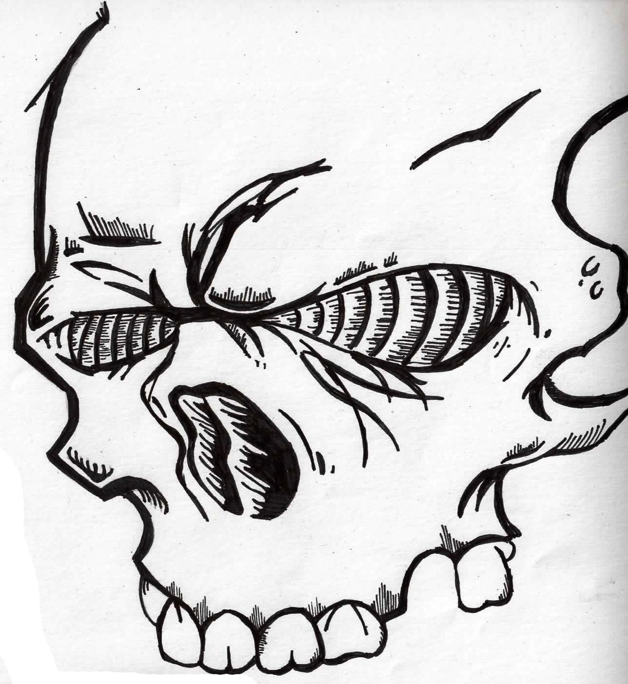 1288x1403 Graffiti Skull Drawings Skulls Drawing Graffiti How To Draw