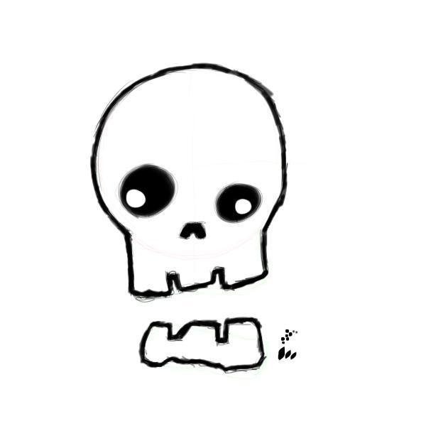 600x600 Cartoon Skulls