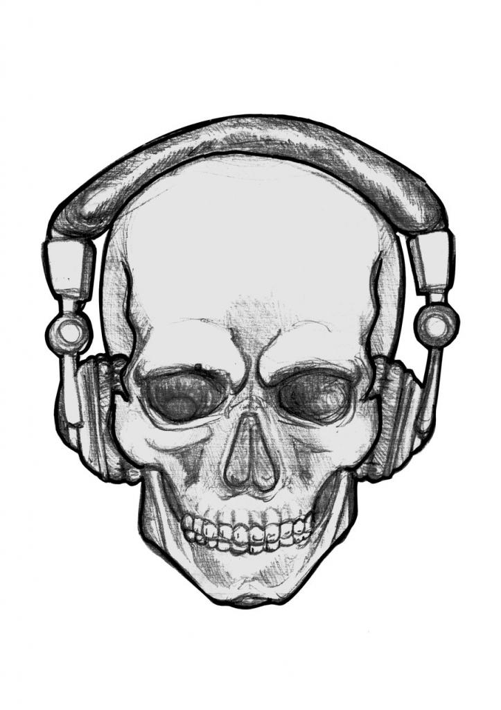 723x1024 Cool Skull Drawings Cool Drawings Of Skulls Google Search Skulls
