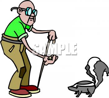 350x316 Royalty Free Skunk Clip Art, Mammal Clipart