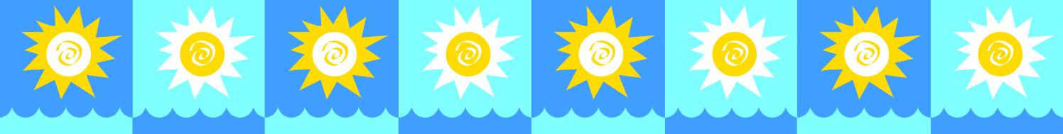 1496x189 Sun clipart boarder