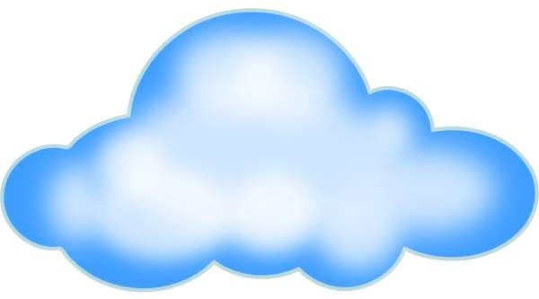 600x333 Sky clipart cloud art