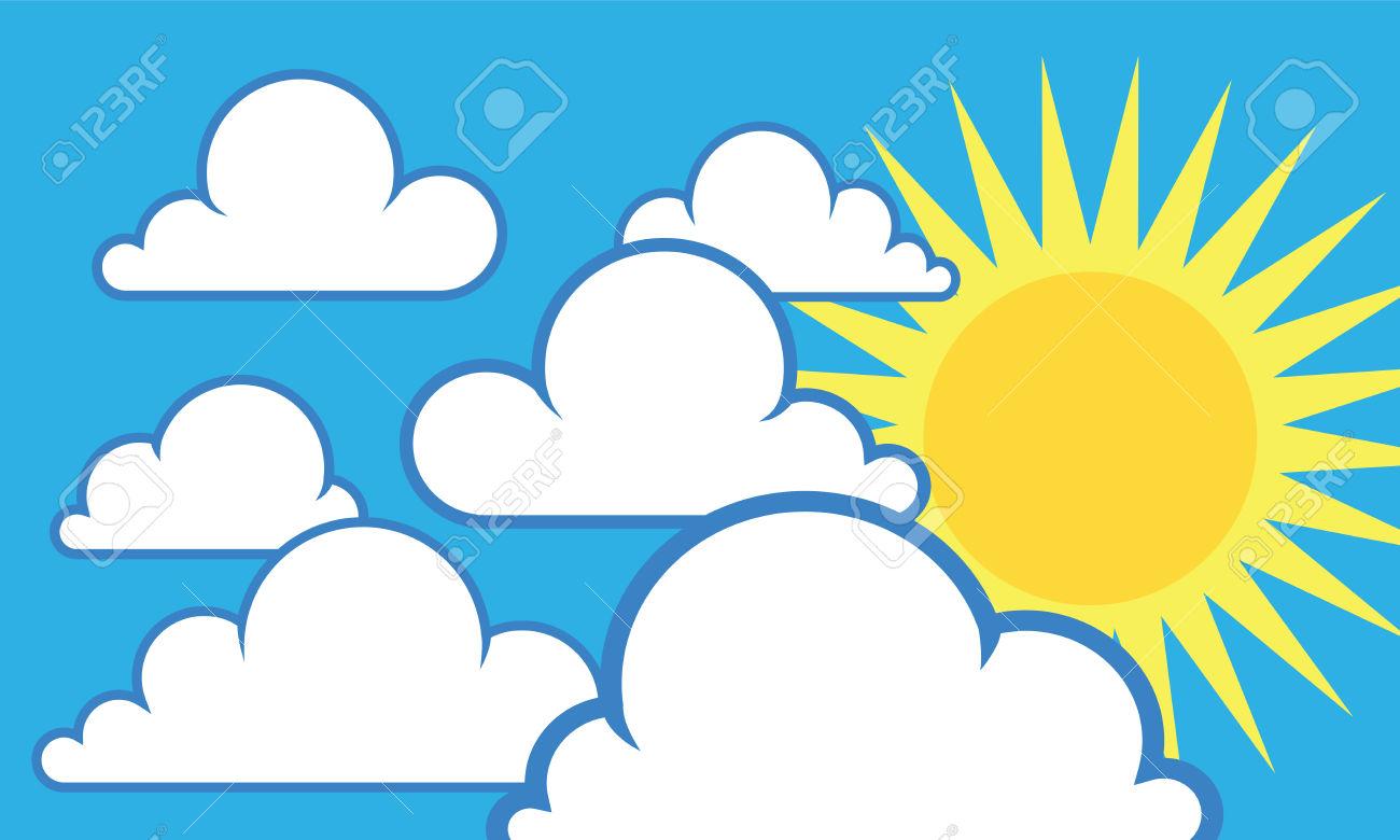 1300x780 Sunny clipart sunny sky