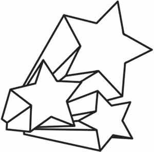 300x296 Best 25+ Shooting star clipart ideas Star outline