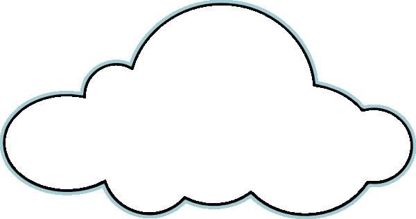 600x316 Sky clipart cloud outline