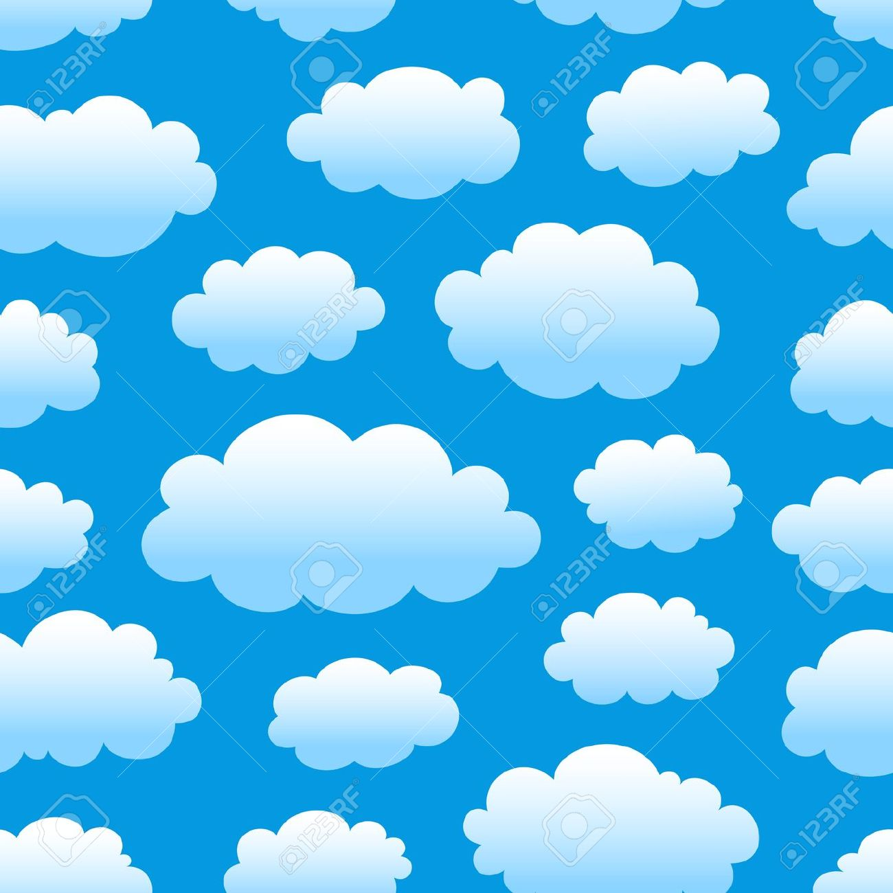 1300x1300 Cloud free sky clipart