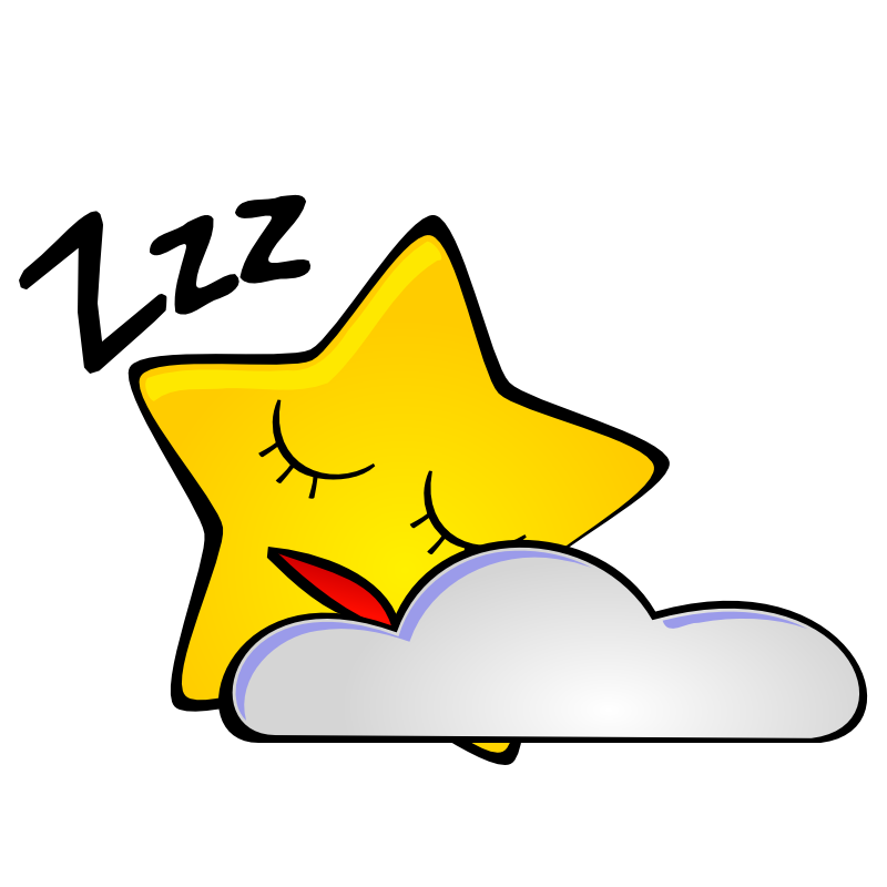 800x800 Night Sleep Sky Clipart