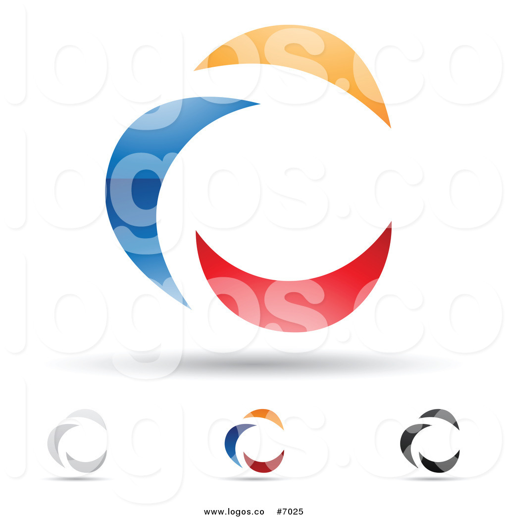 1024x1044 Royalty Free Clip Art Vector Logos of Abstract Letter C Icons by