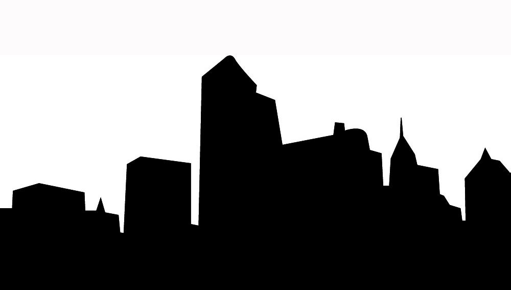1000x567 City Skyline Clipart