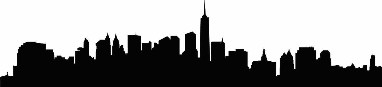1500x345 Ny City Skyline Clipart