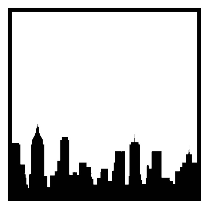 736x736 Best New York Skyline Silhouette Ideas New