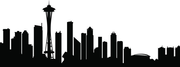 604x225 Image Result For Seattle Skyline Silhouette Clip Art With Windows