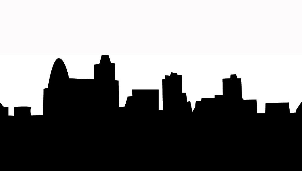 1000x567 Skyline Clipart Simple