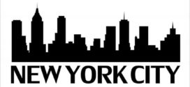 272x125 New York City Skyline Outline Free Download Clip Art Free Clip