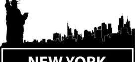 272x125 New York Skyline Silhouette