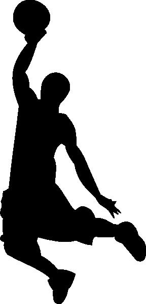 288x597 Gioppino Slamdunk Outline Clip Art
