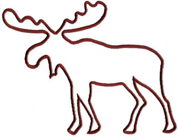 600x464 Best Moose Clipart Ideas Moose Silhouette, Bear