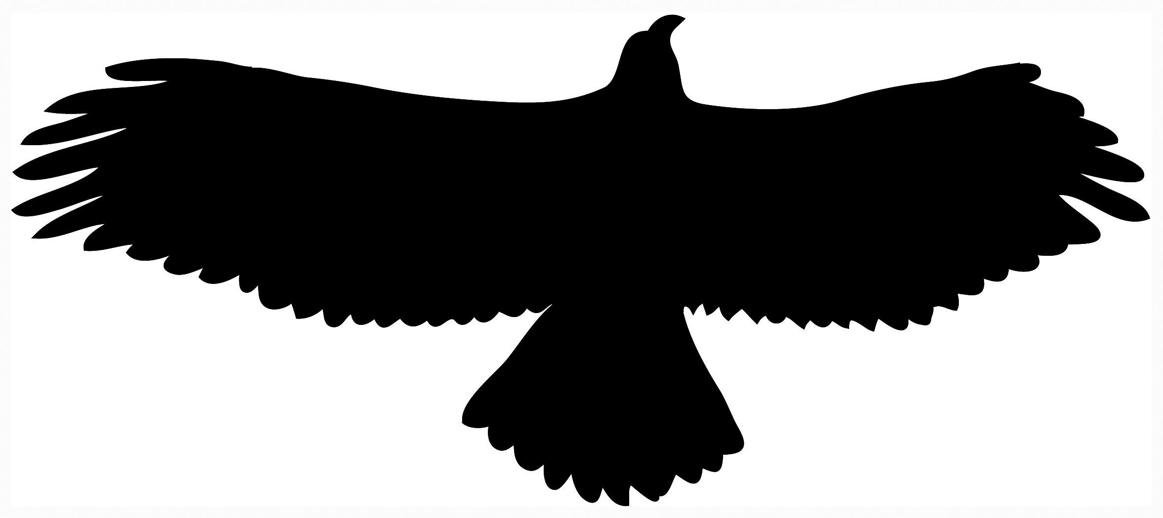 2353x1049 Bird Silhouette Clip Art Free, Free Bird Silhouette Clip Art Free