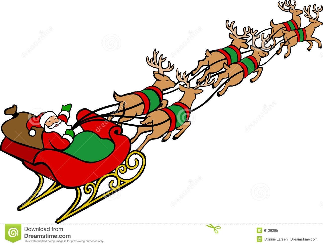 muscle santa reindeer