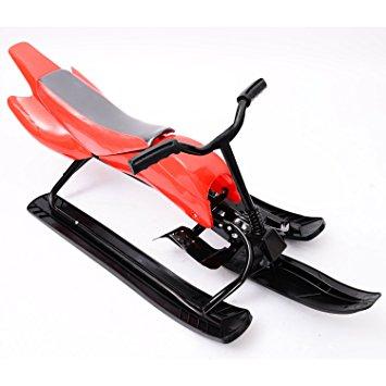 355x355 Homcom Children's Snowracer Ski Steering Sled Sledding Classic