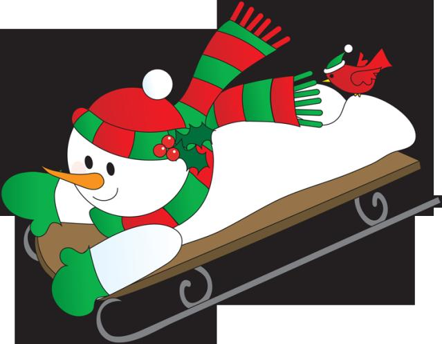 639x497 Sled Riding Clipart