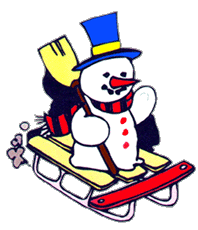198x230 Sleigh Clipart Snow Sled