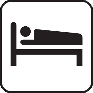 300x300 Hotel Motel Sleeping Accomodation Clip Art