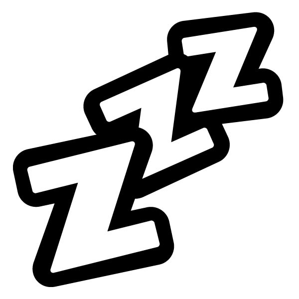 600x600 Sleep Clip Art Clipart Free Download