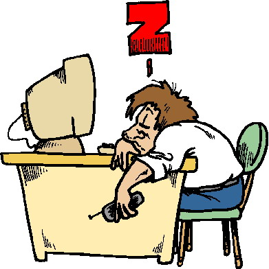 391x392 Tired Clipart No Sleep