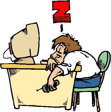391x392 Tired Clipart No Sleep