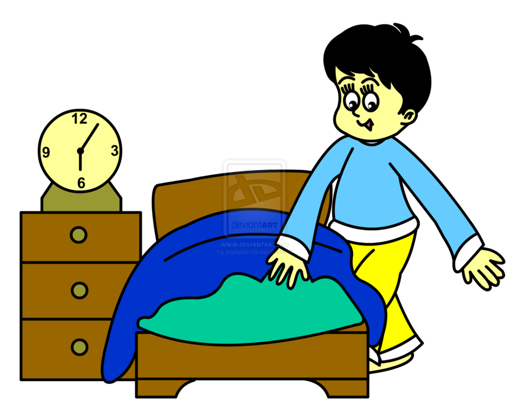 998x800 Bed Clipart Someone