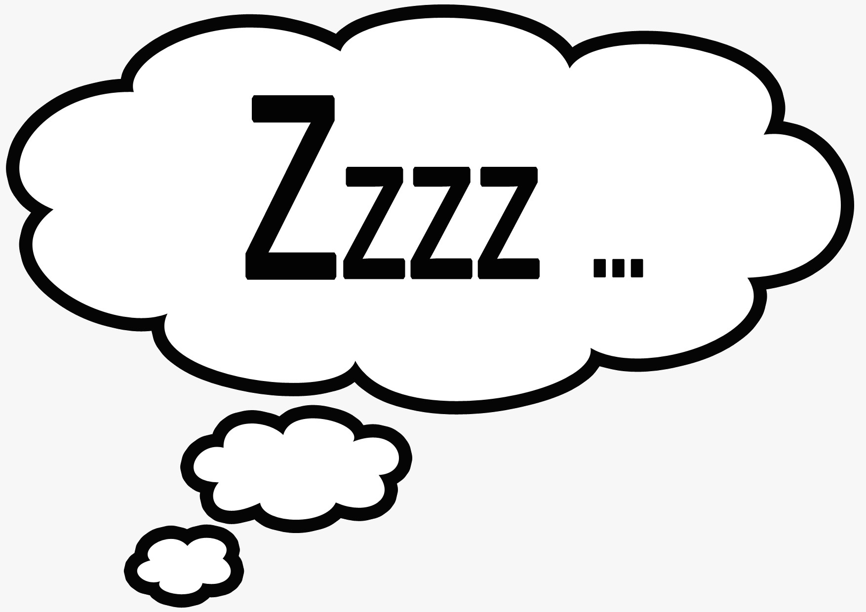 1754x1240 Sleeping Zzz Clipart Kid