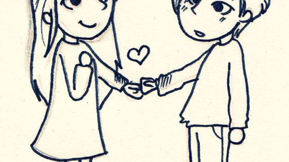 570x320 Cute Drawing Of Love Okay I Talk In My Sleep And My Friend Finally