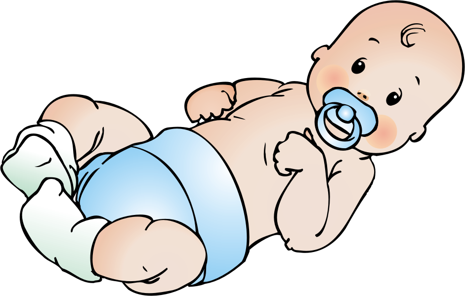 941x599 Sleeping Baby Clip Art