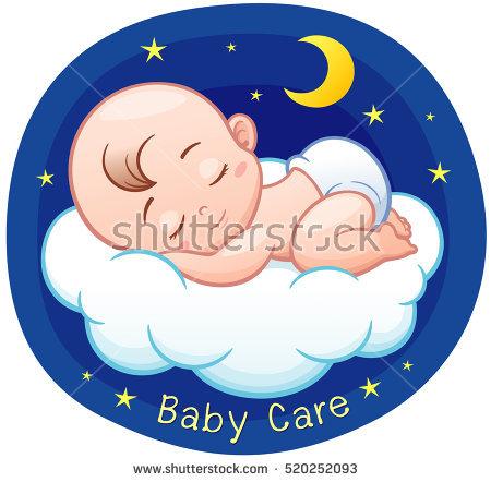 450x442 Baby Clipart Sleeping Beauty