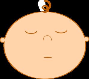 298x264 Sleeping Baby Clip Art