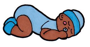 300x157 Sleeping Baby Clipart