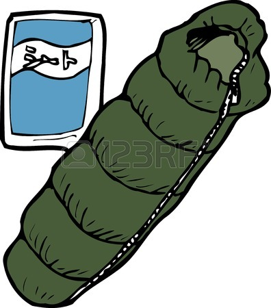 396x450 2,086 Sleeping Bag Stock Vector Illustration And Royalty Free