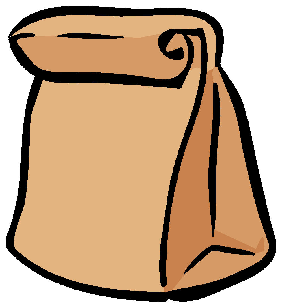 977x1067 Lunch Bag Clipart Clipart Panda