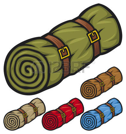 422x450 Sleeping Bag Clip Art