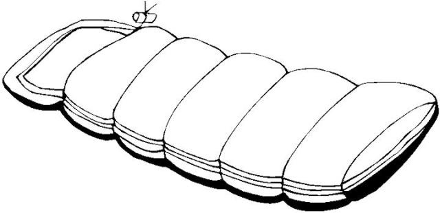 640x310 Sleeping Bag Clipart Black And White Letters Example